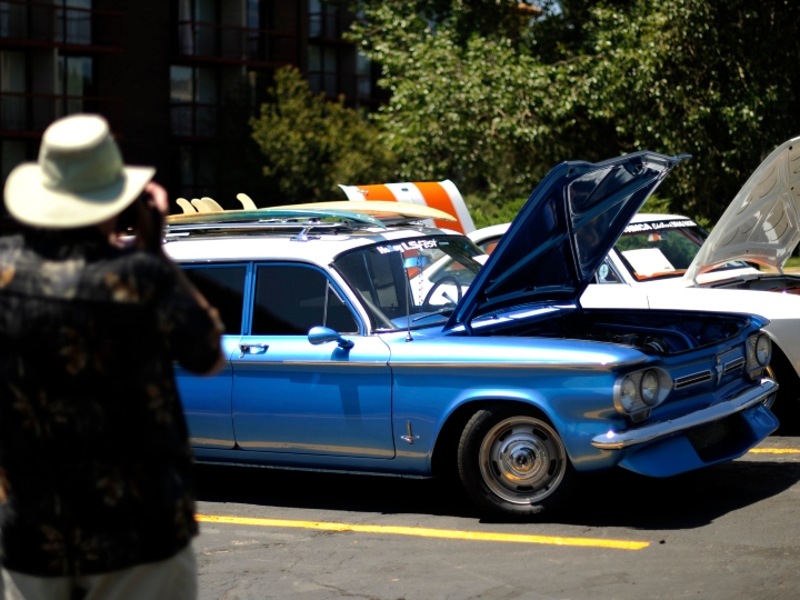 The International Corvair Convention is being held in Denver this week at the Double Tree hotel at I-25 and Orchard Rd. The last time the convention was held in Denver was 1981. The event is being sponsored by the local CORSA (Corvair Society of America) Chapter = Rocky Mountain CORSA The Chevrolet Corvair is a unique American automobile that was manufactured from 1960-1969. The Corvair vehicle models included 2 door coupes and convertibles, 4 door sedans, station wagons, passenger and utility vans, and trucks. Hyoung Chang / The Denver Post