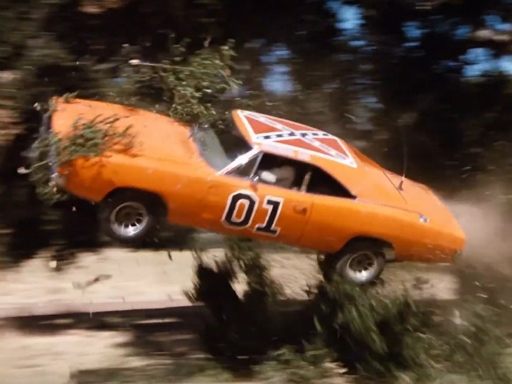 general lee doing stunt