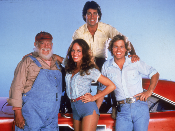 uncle jesse and the dukes with daisy